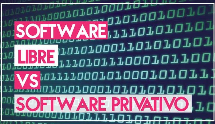 Software libre vs Software Privativo